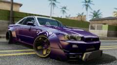 Nissan Skyline GT-R R34 Battle Machine