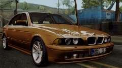 BMW 530D E39 2001 Stock для GTA San Andreas