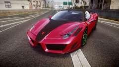 Ferrari 458 Italia Mansory Siracusa 2011