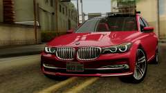 BMW 7 2015 для GTA San Andreas