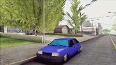 ВАЗ 2109 синий для GTA San Andreas