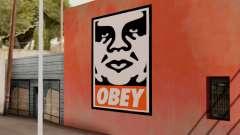 OBEY Graffiti для GTA San Andreas