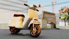 New Faggio для GTA San Andreas