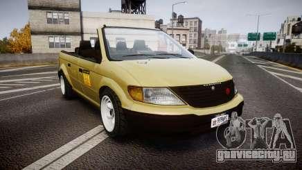 Schyster Cabby LX для GTA 4