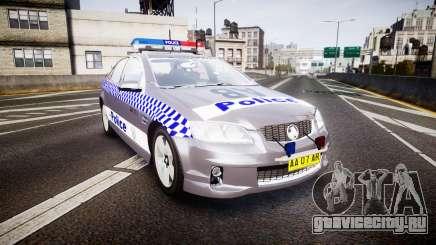Holden VE Commodore SS Highway Patrol [ELS] для GTA 4