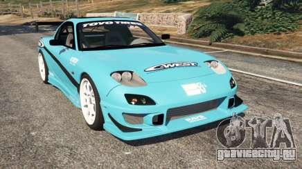 Mazda RX-7 C-West v0.1 для GTA 5