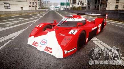 Toyota GT-One TS020 Le Mans 1999 для GTA 4