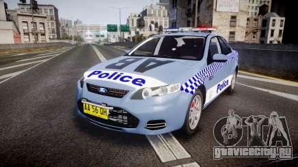Ford Falcon FG XR6 Turbo NSW Police [ELS] v2.0 для GTA 4