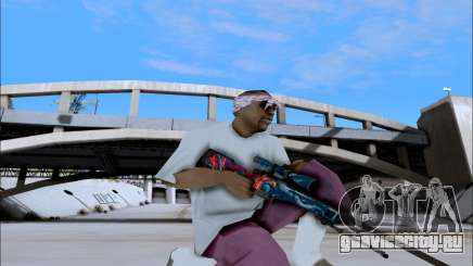 AWP Hyper Beast для GTA San Andreas