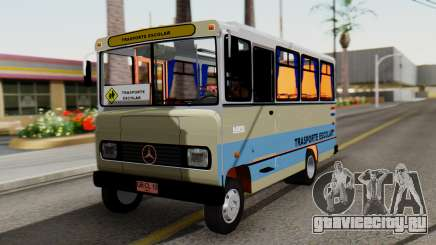 Mercedes-Benz LO-608D Paraguay School Bus для GTA San Andreas