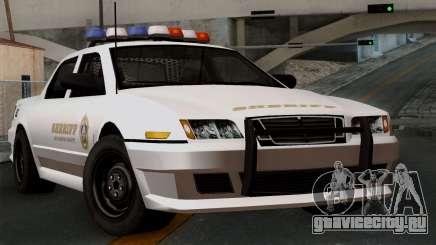 GTA 5 Sheriff Car для GTA San Andreas