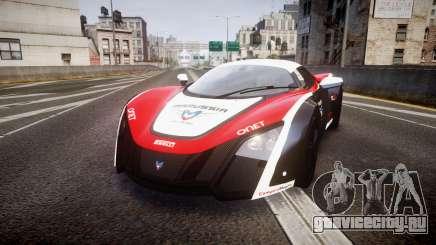 Marussia B2 2012 Jules для GTA 4