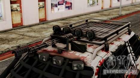 Ford Explorer Zombie Protection для GTA San Andreas вид справа
