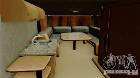 Camper Trailer для GTA San Andreas вид сзади