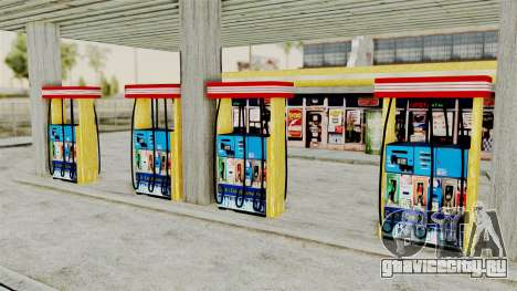LS CJ Gas v2 для GTA San Andreas третий скриншот