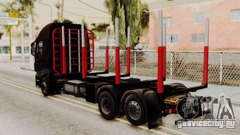 Iveco Truck from ETS 2 v2 для GTA San Andreas вид слева