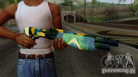 Brasileiro Combat Shotgun v2 для GTA San Andreas третий скриншот