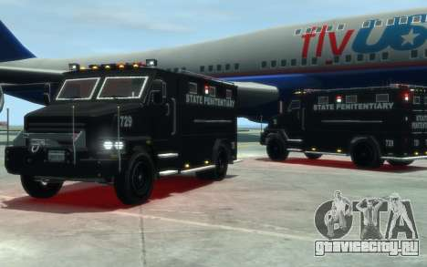 International 4000-Series SWAT Van для GTA 4
