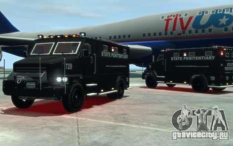 International 4000-Series SWAT Van для GTA 4