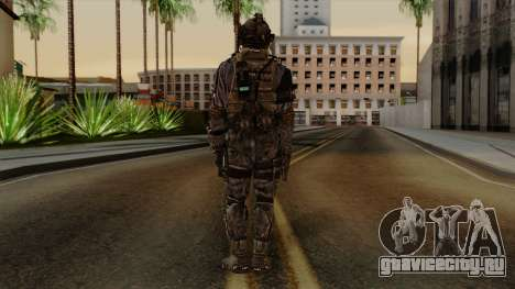 CoD Custom Ghost Retextured для GTA San Andreas третий скриншот
