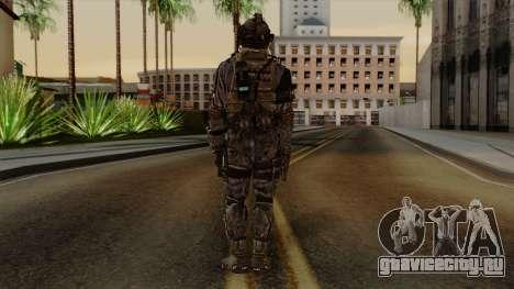 CoD Custom Ghost Retextured для GTA San Andreas третий скриншот