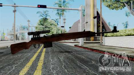 Gewehr 43 ZF from Battlefield 1942 для GTA San Andreas
