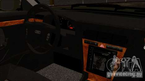 Audi A8 D2 для GTA San Andreas вид справа