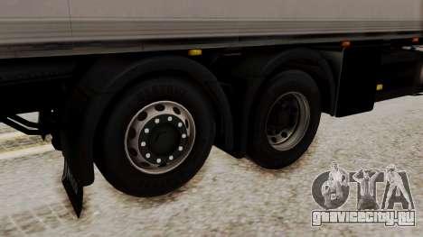 Iveco Truck from ETS 2 для GTA San Andreas вид сзади слева
