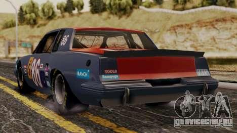 Pontiac GranPrix Hotring 1981 No Dirt для GTA San Andreas вид слева