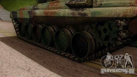 PT-91A Twardy для GTA San Andreas вид сзади слева