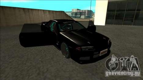 Nissan Skyline R32 Drift Monster Energy для GTA San Andreas вид сбоку