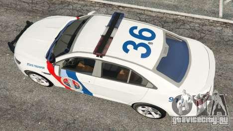 Ford Taurus State Troopers San Andreas для GTA 5