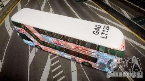 Wrightbus New Routemaster для GTA 4 вид справа
