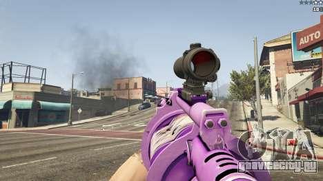 Аниме гранатомёт для GTA 5 шестой скриншот