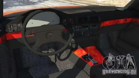 BMW 535i (E34) v2.0 для GTA 5 вид сзади справа