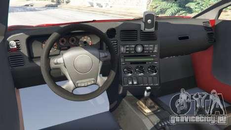 Arrinera Hussarya v0.5 для GTA 5 вид сзади справа