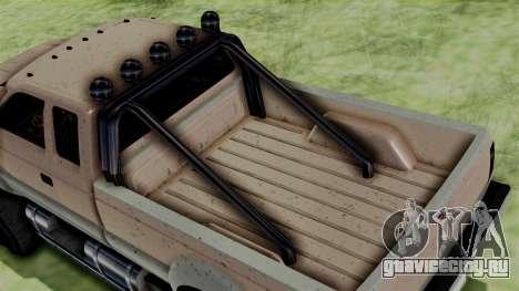 GTA 5 Vapid Sandking для GTA San Andreas вид сзади слева