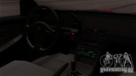 Nissan 180SX Street Golden Rims для GTA San Andreas вид справа