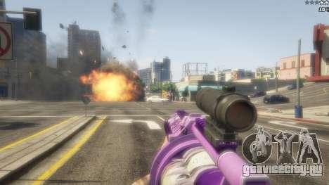 Аниме гранатомёт для GTA 5 пятый скриншот