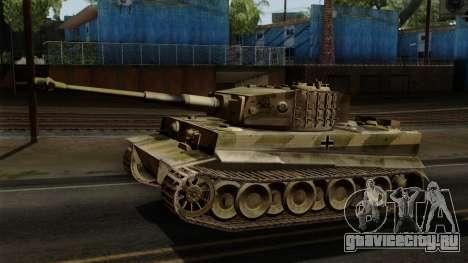 Panzerkampfwagen VI Ausf. E Tiger No Interior для GTA San Andreas