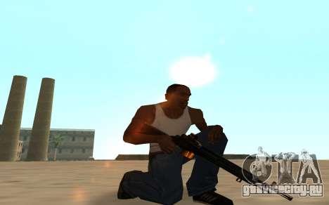 Nitro Weapon Pack для GTA San Andreas седьмой скриншот