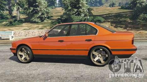 BMW 535i (E34) v2.0 для GTA 5 вид слева