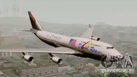 Boeing 747-400 Friendship Tag для GTA San Andreas