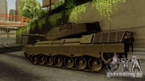 Leopard 1A5 для GTA San Andreas вид слева