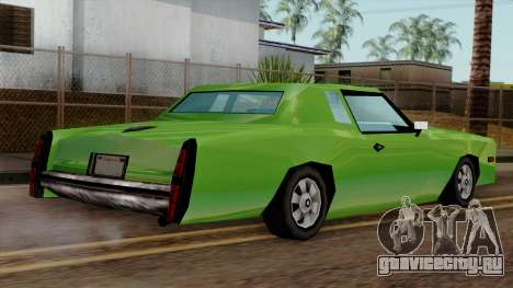Esperanto from Vice City Stories для GTA San Andreas вид слева