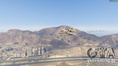 A-10A Thunderbolt II 1.1 для GTA 5