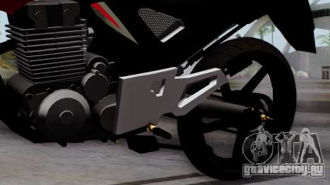 Honda Twister 2014 для GTA San Andreas вид справа
