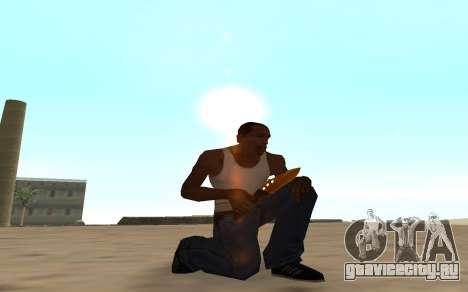 Nitro Weapon Pack для GTA San Andreas пятый скриншот