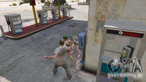 Нож Рэмбо для GTA 5 шестой скриншот