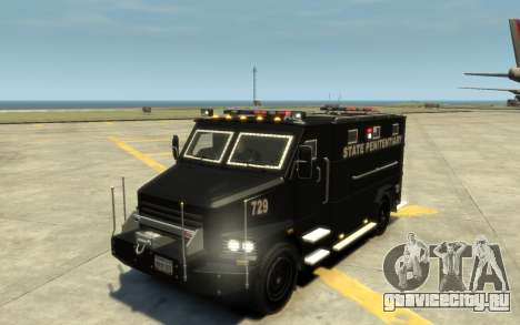 International 4000-Series SWAT Van для GTA 4 вид сверху